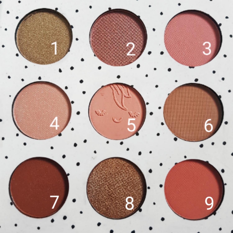 Primark Peach Eyeshadow Palette