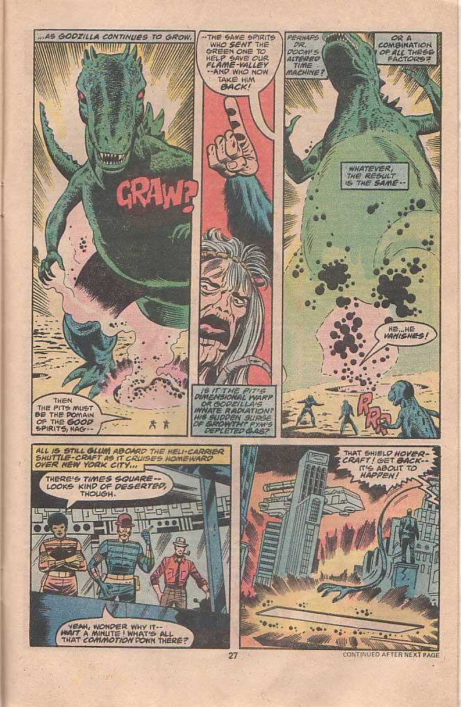 Godzilla (1977) Issue #22 #22 - English 16