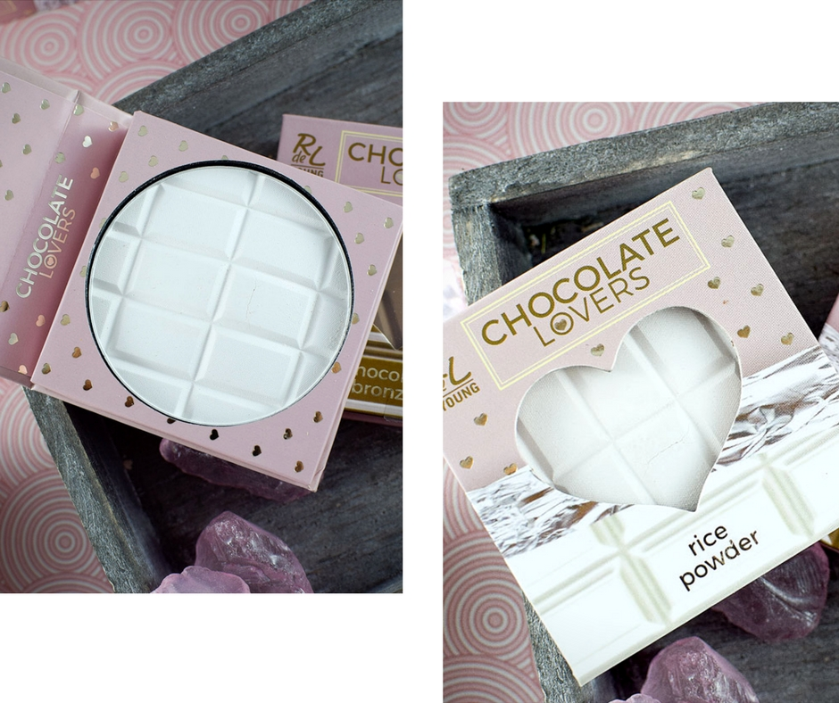Chocolate Lovers LE, RdeL Young, Swatch, Rice Powder