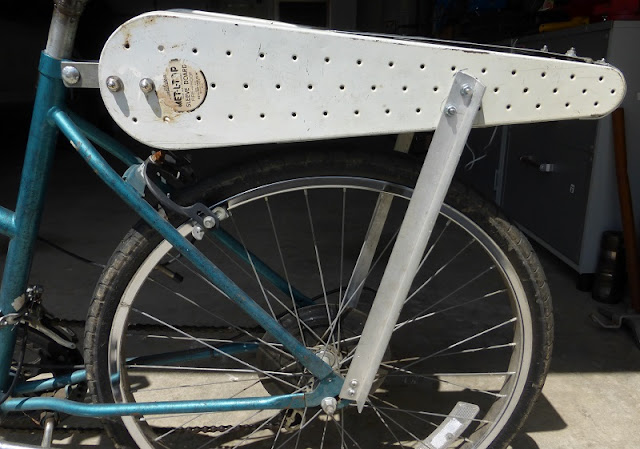 ironing board rack from the side