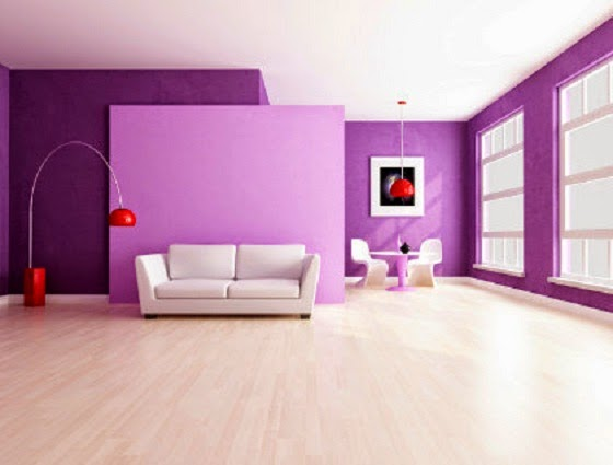 Purple Color Effect for Homeowners