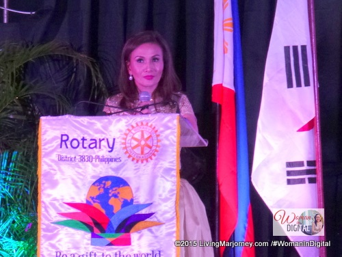 Rotary Club Makati Gems Induction Ceremony