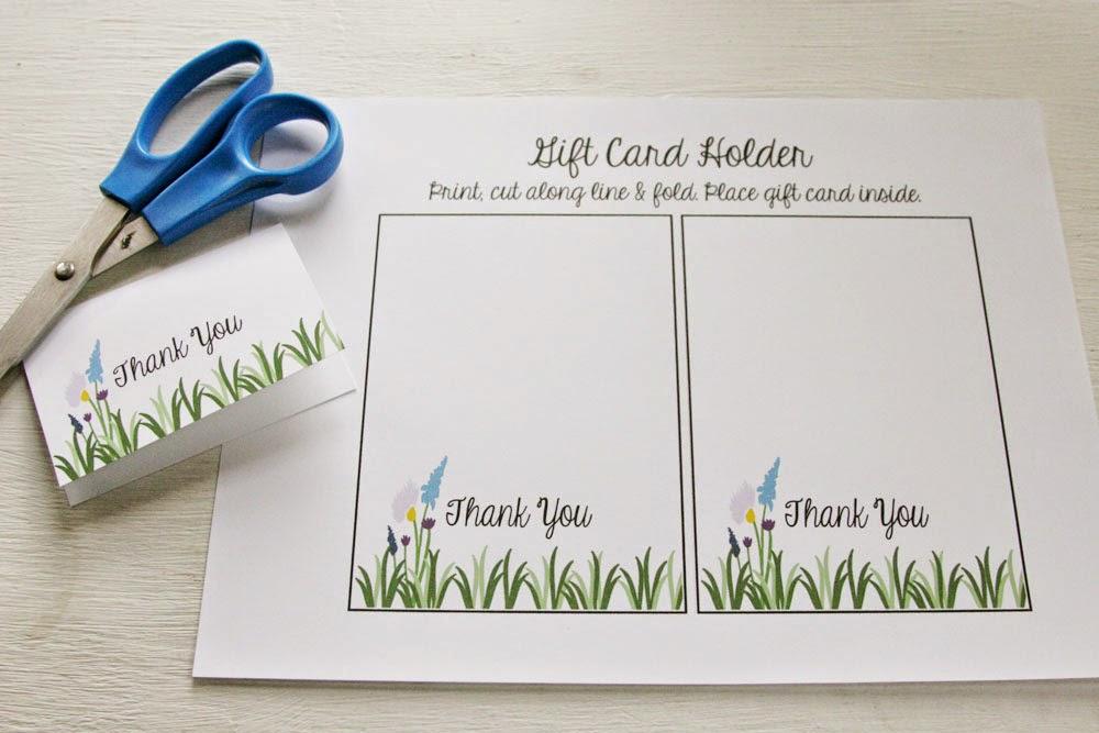 Teacher Appreciation Gift Amp Gift Card Holder Free