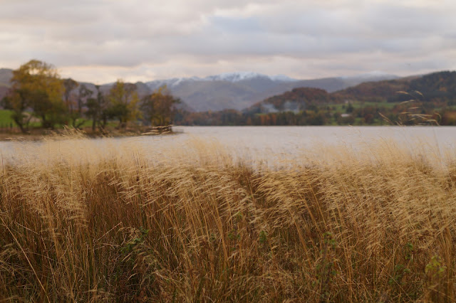 Pooley Bridge Ullswater Lake District in Autumn