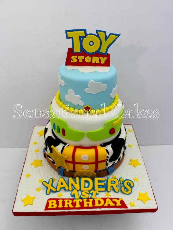 The Sensational Cakes TOY STORY INSPIRED 3 TIER CAKE DESIGN