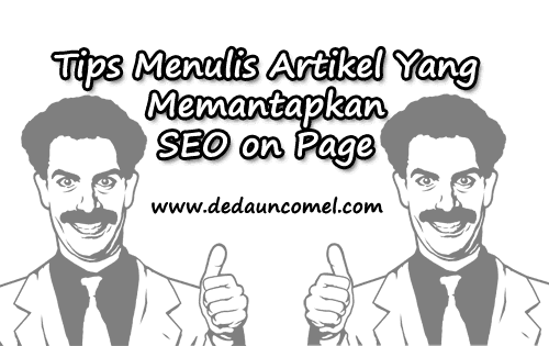 Tips, tutorial, cara, SEO on Page, menulis artikel,