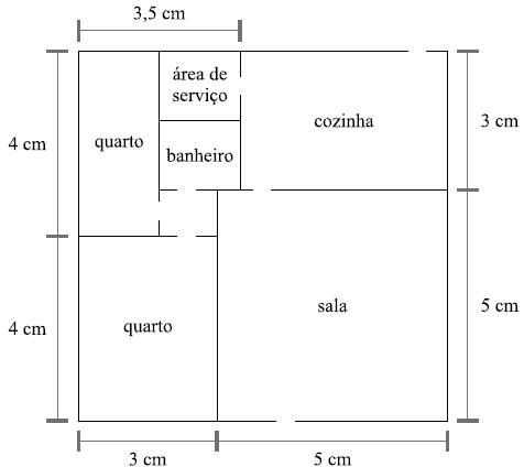 Questão 24 - Área e perímetro