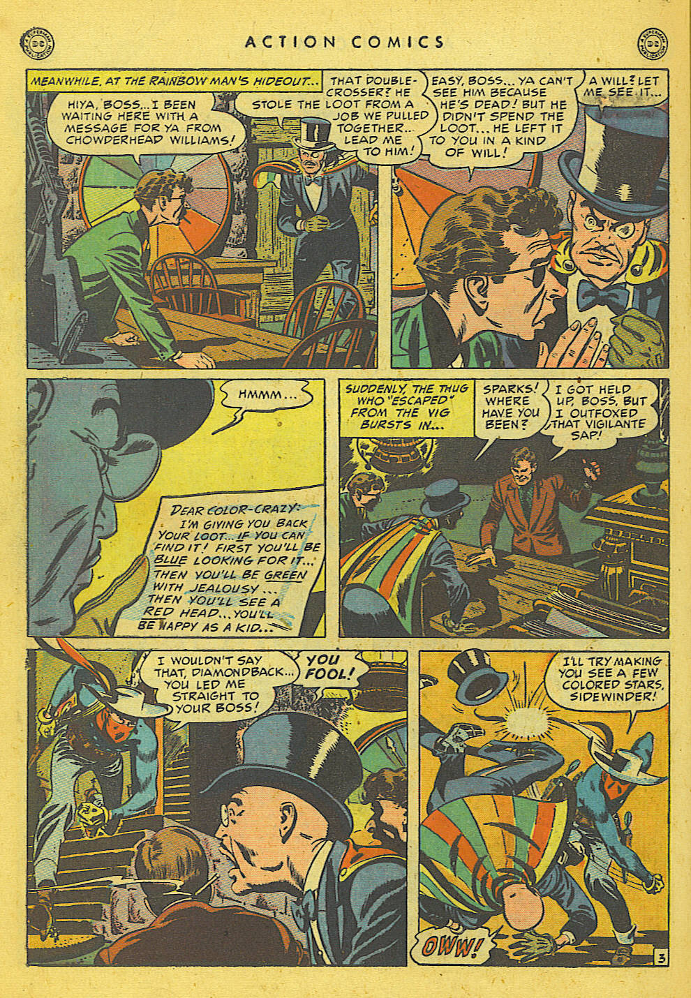 Read online Action Comics (1938) comic -  Issue #135 - 34