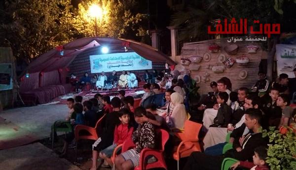 سهرات رمضانية فنية بساحة المكتبة الرئيسية بالشلف