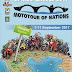 Μοτοσικλετιστές από πολλές χώρες στο Ζαγόρι, το Σάββατο 9 Σεπτεμβρίου.