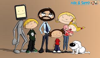 la familia d'en max&sammy