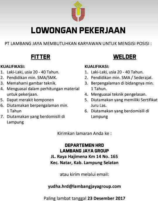 Bursa Kerja Lampung : bursa, kerja, lampung, Bursa, Lowongan, Kerja, Lampung, Lambang
