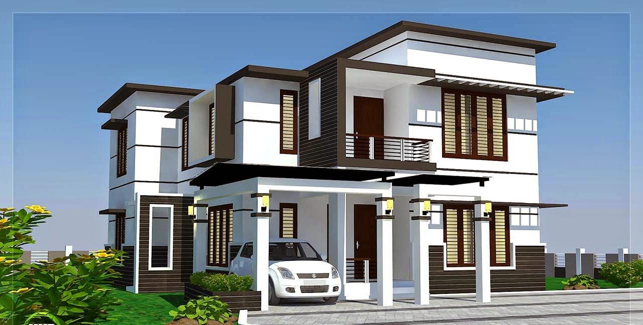 Model Desain Rumah 2 Lantai Minimalis & 30 Model Desain Rumah 2 Lantai Minimalis