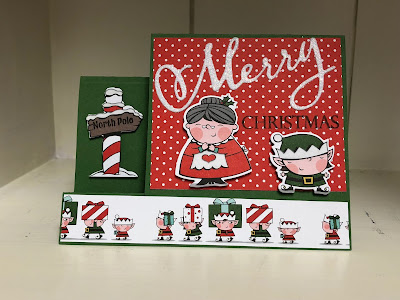 Stampin' Up! www.stampingwithsusan.com, Santa's Workshop, Merry Christmas to All Bundle,