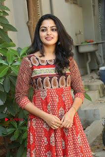 Telugu Actress Nikhila Vimal Latest Stills in Anarkali Dress  0165.JPG