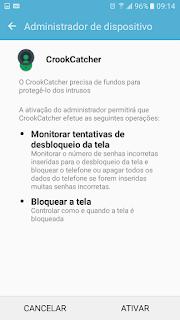 app tira foto de quem tenta desbloquear celular