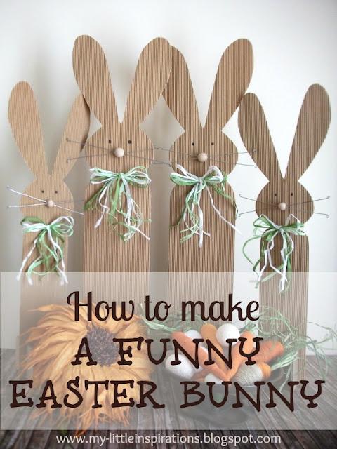 DIY Easter Bunny - MLI
