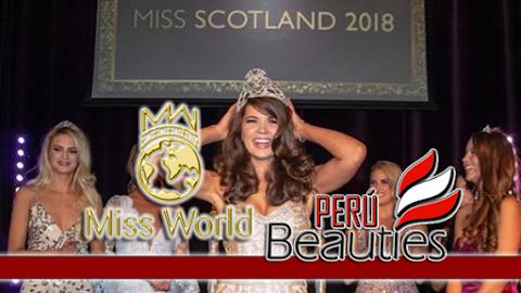 Miss World Scotland 2018