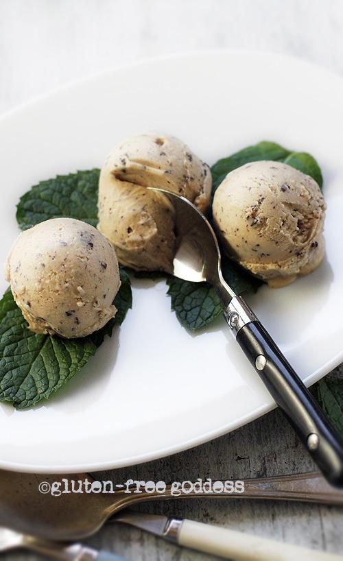 Peanut Butter Ice Cream with Coconut Milk