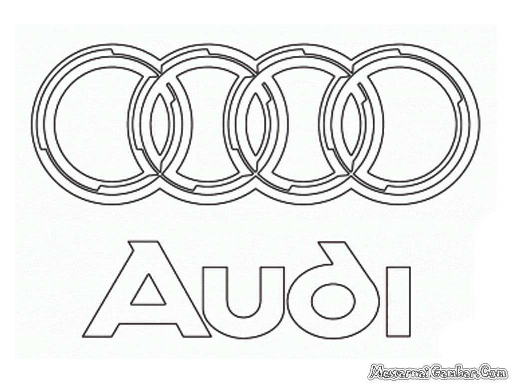 Aneka Logo Mobil Untuk Diwarnai