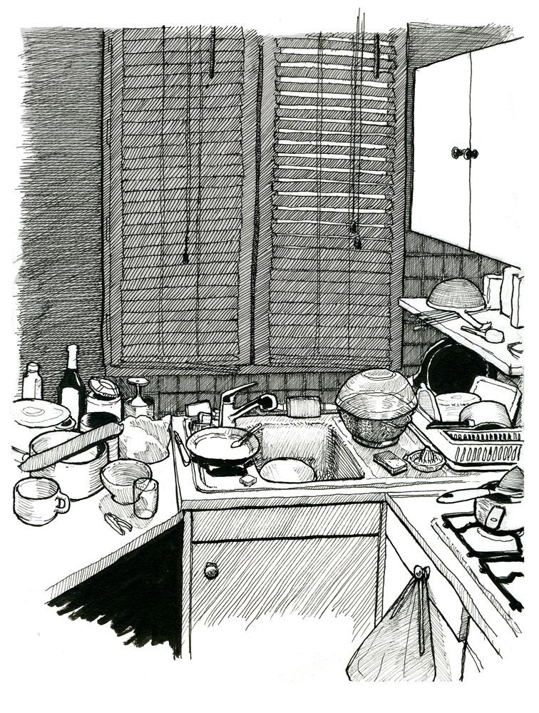 Croquis de Zongo - Page 13 Kitchen