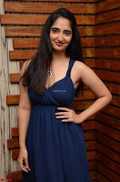 Radhika Mehrotra in a Deep neck Sleeveless Blue Dress at Mirchi Music Awards South 2017 ~  Exclusive Celebrities Galleries 058.jpg