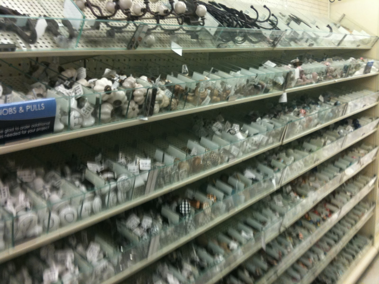 Two Men and a Little Farm: KNOBS AND PULLS AT HOBBY LOBBY