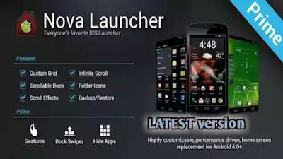Nova launcher prime apk download, download nova launcher