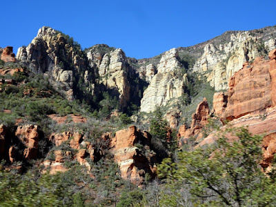 Oak Creek Canyon.