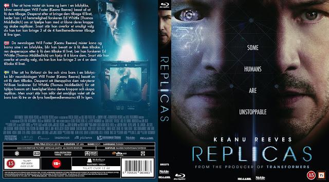 Replicas Bluray Cover