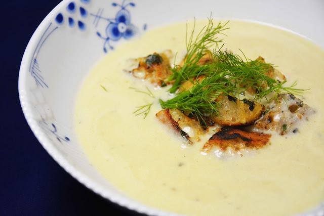 Soupe à L'ail et aux échalotes
