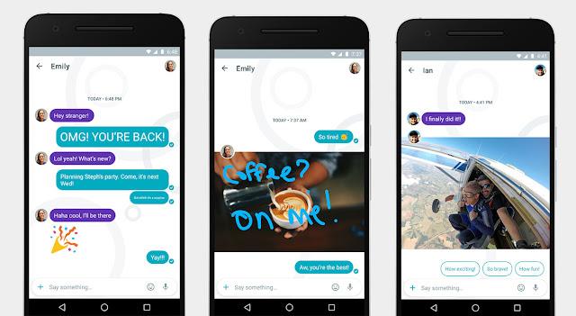 5 Fitur Utama Google Allo Yang Akan Mengalahkan WhatsApp Dan BBM