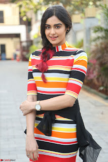 Adha Sharma in a Cute Colorful Jumpsuit Styled By Manasi Aggarwal Promoting movie Commando 2 (29).JPG