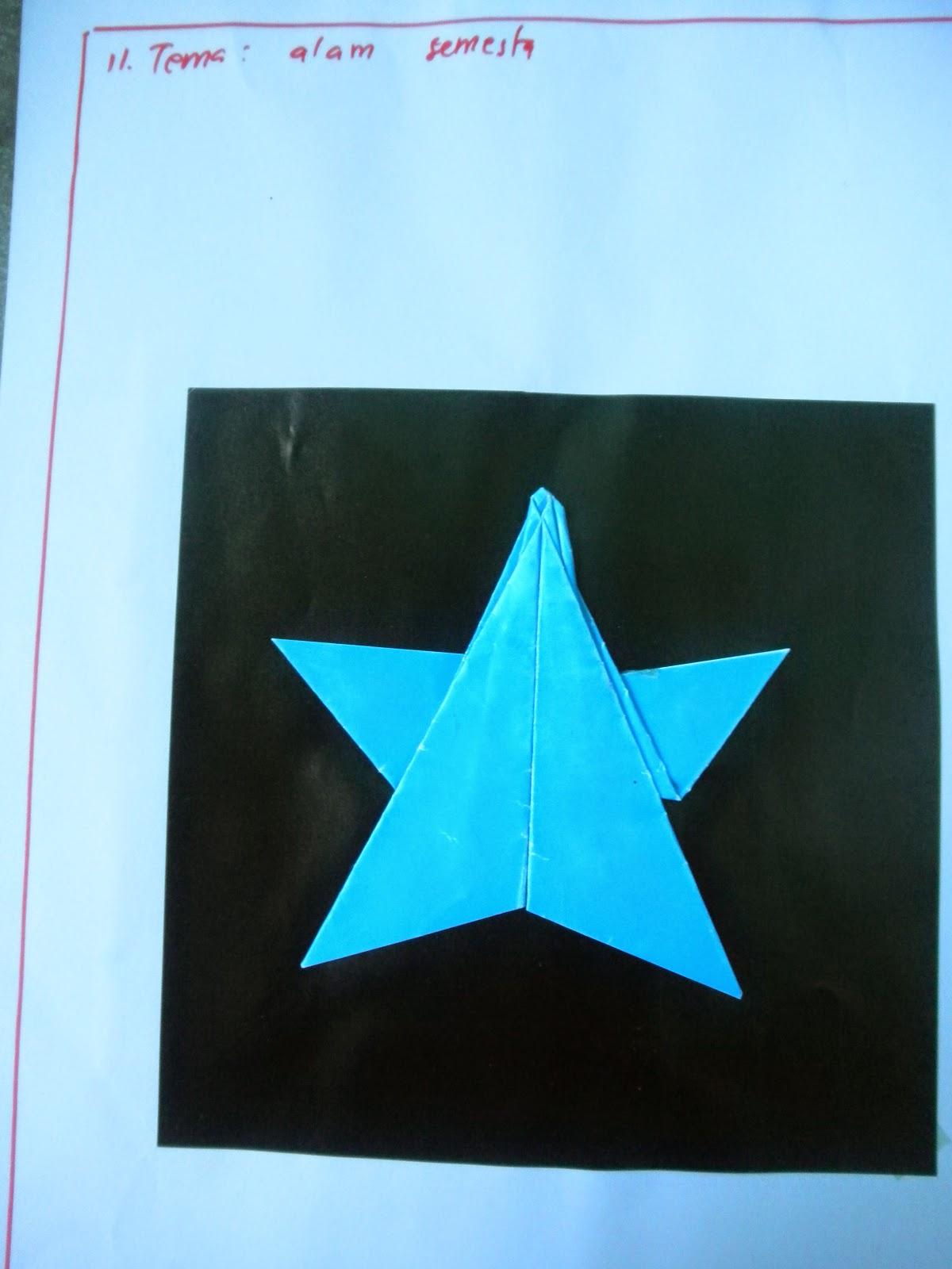 Contoh Origami Melipat Kertas Untuk Paud Berdasarkan Tema