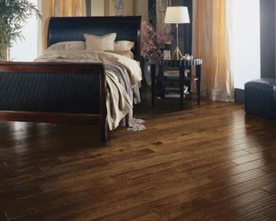 Sàn gỗ tự nhiên chiu liu phòng ngủ
