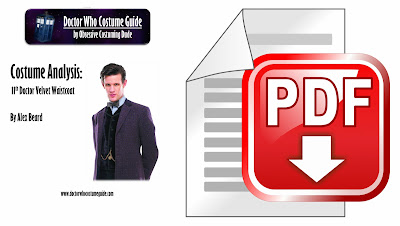 11th Doctor velvet waistcoat analysis PDF