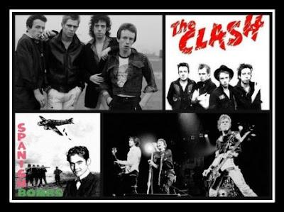 La banda era la más politizada de todas las de la primera ola del punk. Sus canciones, usualmente compuestas por el guitarrista Mick Jones y el propio Strummer, trataban temas como la decadencia social, el desempleo, el racismo, la brutalidad policial, la represión política y social y el militarismo.