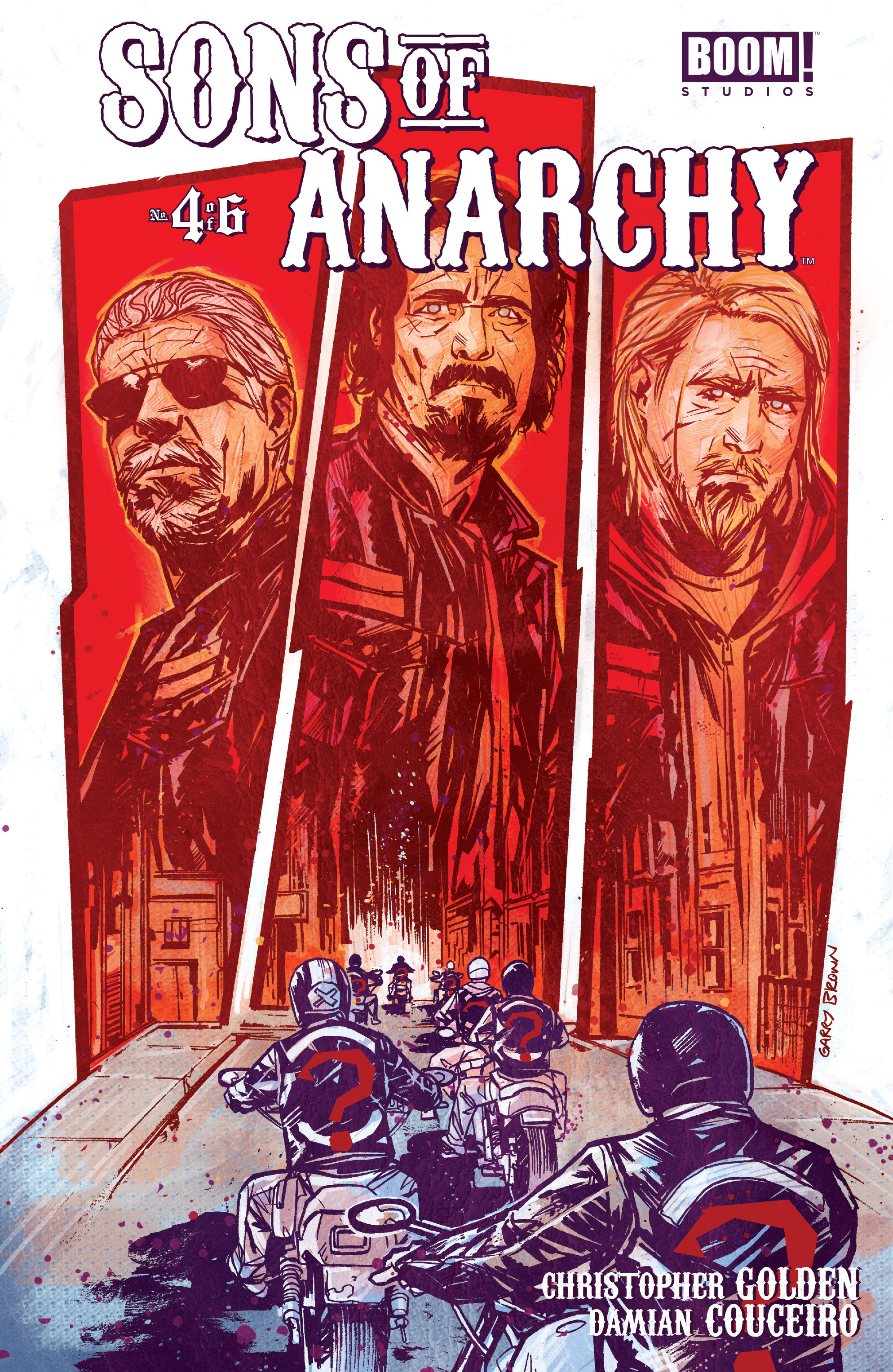 Read online Sons of Anarchy comic -  Issue #4 - 1