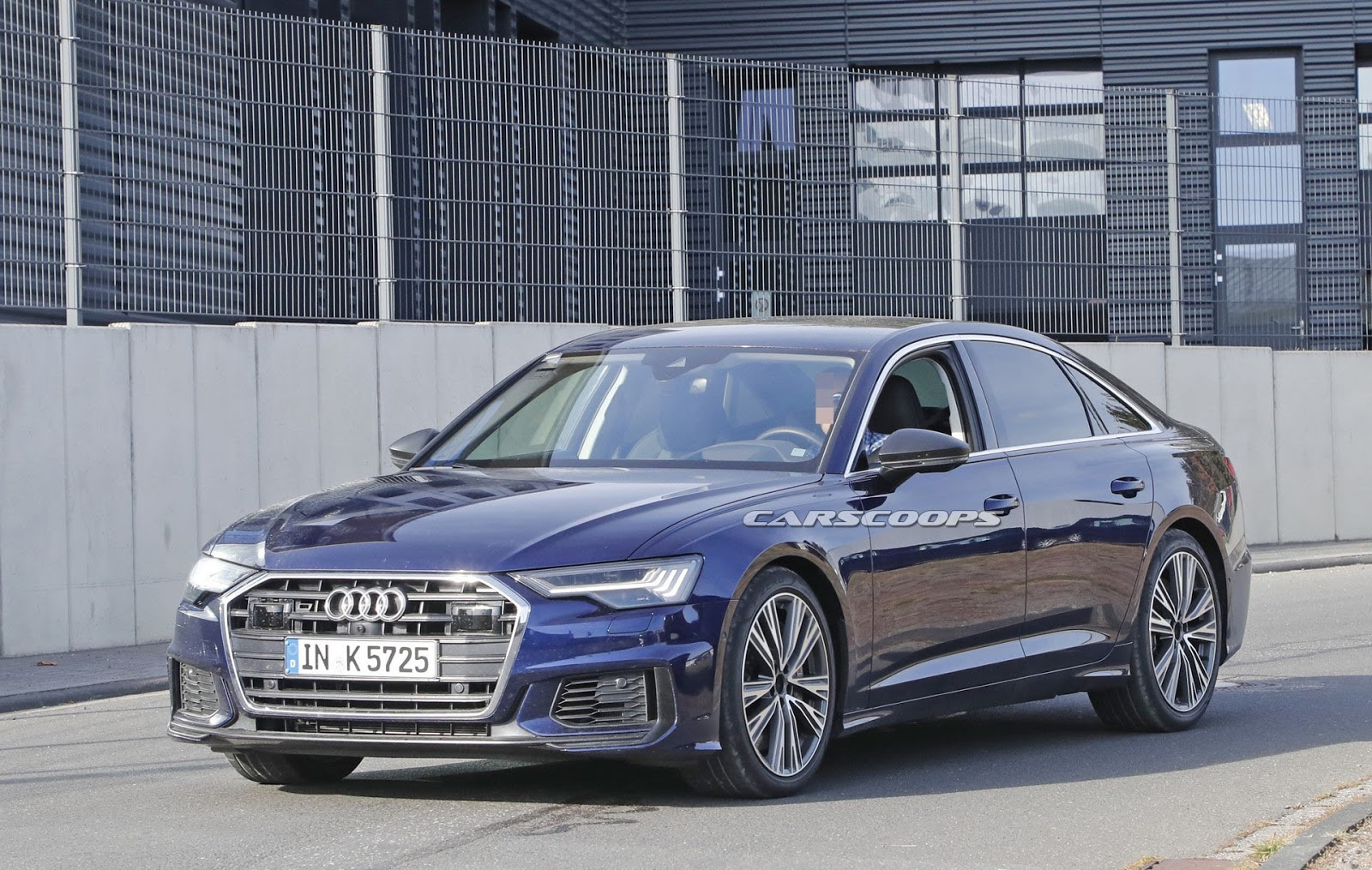 2020 Audi S6 Spy Shot Ms Blog