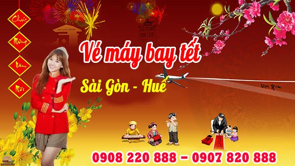 Vé máy bay tết Sài Gòn Huế