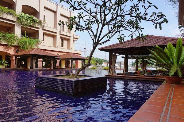 マラッカでも有数の高級ホテル、カーサ・デル・リオ・メラカ