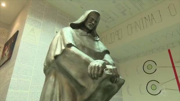 Estátua Giordano Bruno