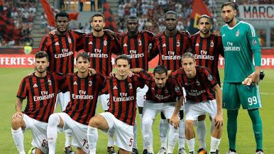 Daftar Skuad Pemain AC Milan 2017-2018 Terbaru