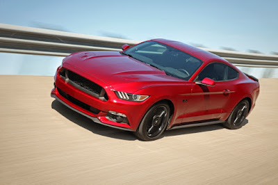 Ford Mustang GT in reacing track Hd image
