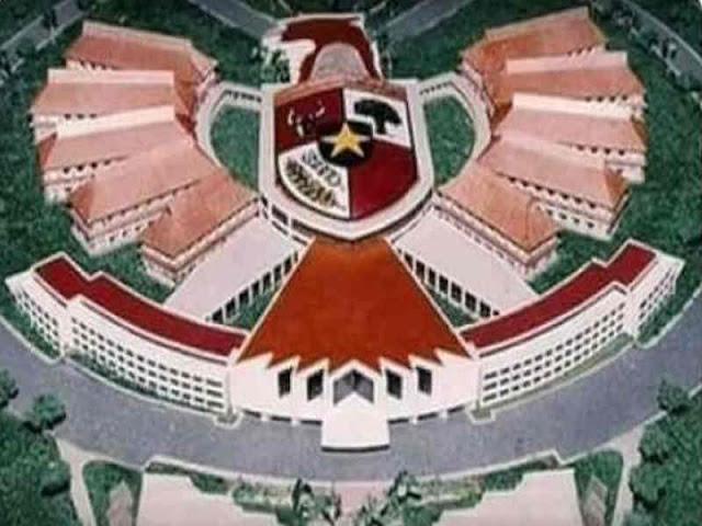 Graha Garuda Tiara Indonesia Bukan Rancangan Istana Negara di Palangkaraya
