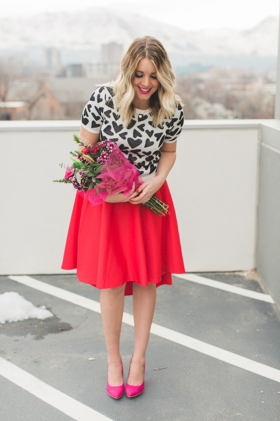 Modest Fashion Blogger, Utah Fashion Blogger, Valentine's Outfit