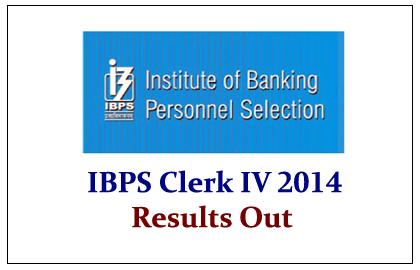 IBPS Clerk IV 2014