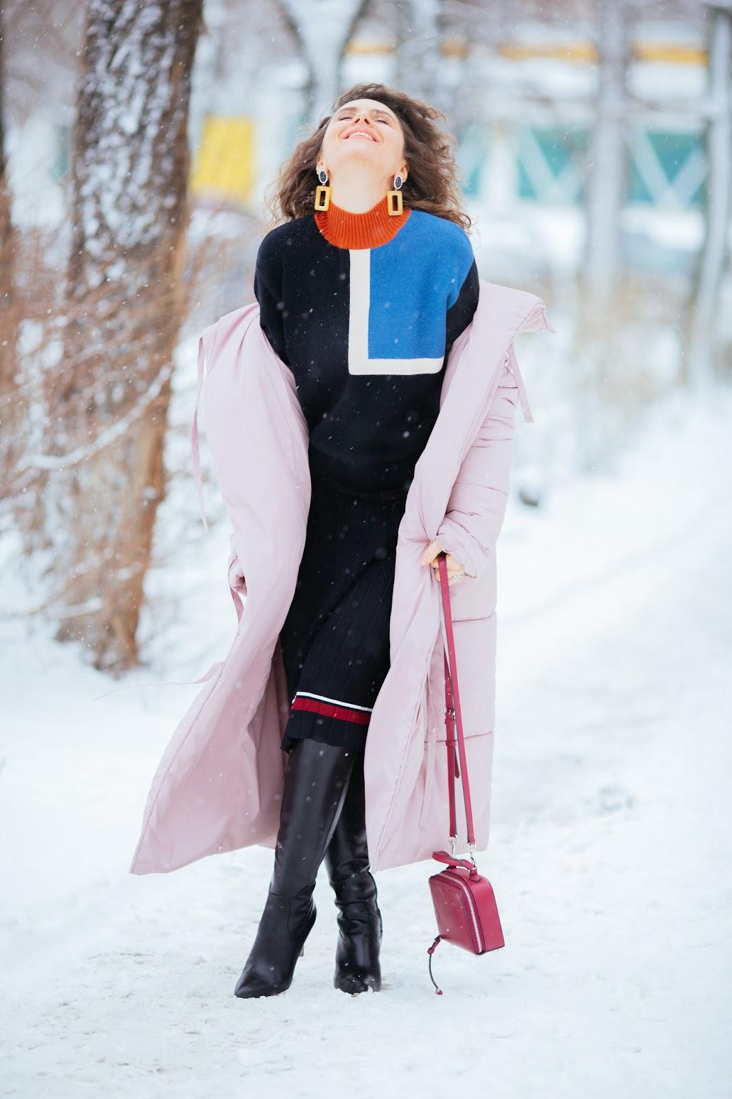 как красиво одеваться зимой