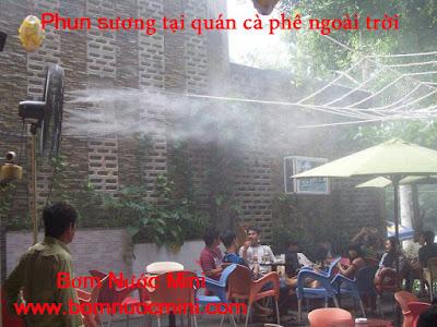 Bom phun suong thuong hieu Lotus Pumps doc quyen tai Viet Nam