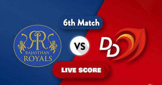 IPL 2018 Match 6: RR vs DD: Live Score Update, Full Scorecard